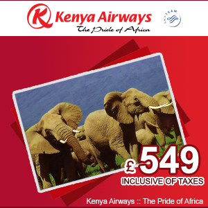 Kenya Airways Flights offers